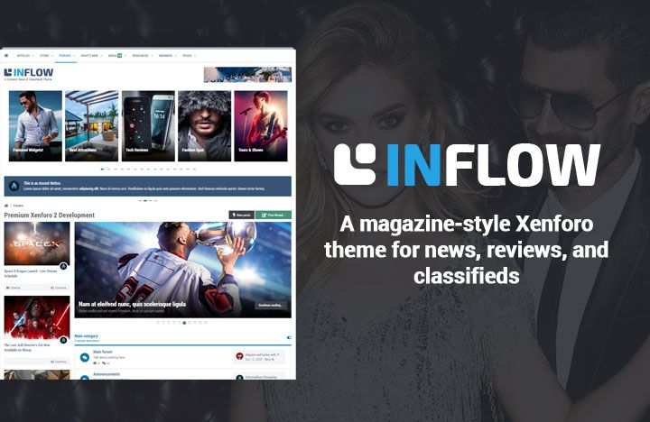 A content-driven theme great for news, reviews, classifieds or magazine-style websites