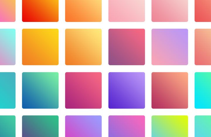 A free collection of 30 beautiful, soft pastel web gradients - great for banners, heroes and landing pages
