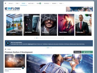 Inflow - Responsive Magazine, News & Reviews Theme