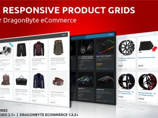 Responsive Product Grids for DragonByte eCommerce