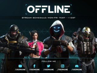Rogue Company Free Twitch Offline Banner With Photoshop Kit