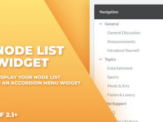 Node List Widget