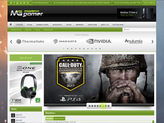 Modern Gamer - Powerful Gaming Portal Xenforo 2 Style Bundle