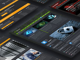 Source - Digital Cyber Light & Dark Theme Bundle