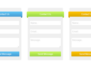 Easy Contact Form with Banner