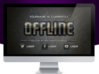 GamerGrunge Offline Banner Kit