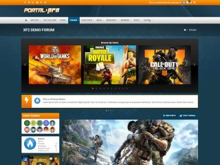 Portal Pro - Powerful Esports Gaming Theme