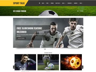 Sport Talk - Responsive Xenforo 2 Sports Theme Bundle