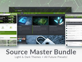 Source Master Collection - Light & Dark Digital Theme Bundle