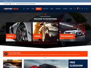 Motortrend - Responsive Xenforo Automotive Car & Motorcycle Theme