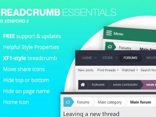 Breadcrumb Essentials