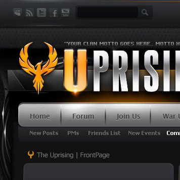Uprising Flash vBulletin Theme