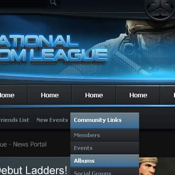National SOCOM League vBulletin Template