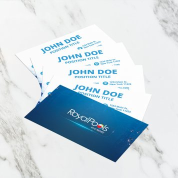 Royal Pools & More Business Cards | V2