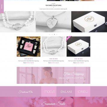 Bridebop.com Womens Wedding Gifts Ecommerce Store