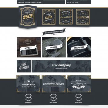 Groomsday Wedding Gifts Ecommerce Layout V2