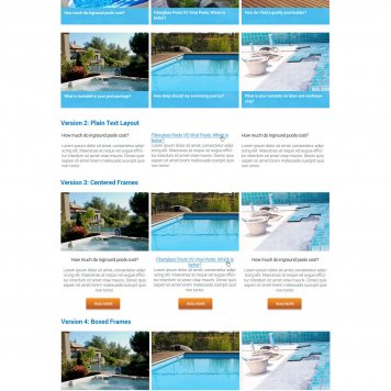 Royal Pools & More - Hubspot Article Portal Page
