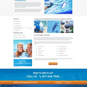 Royal Pools & More - Service Page