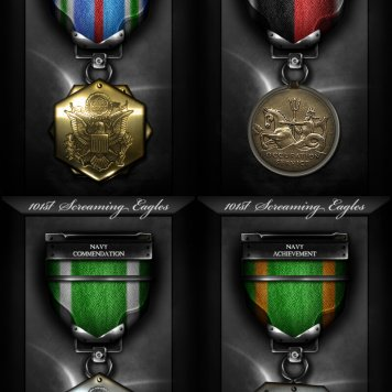 [101st Screaming Eagles Awards & Medals