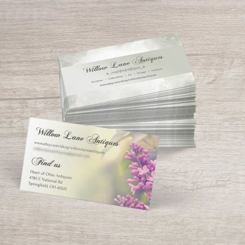 Vintage Floral Business Cards | V2