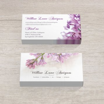 Vintage Floral Business Cards | V3