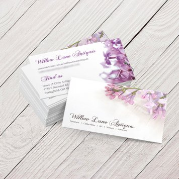 Vintage Floral Business Cards | V4